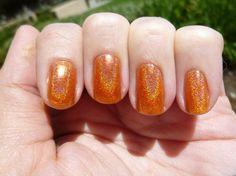 Lainey Lou Holographic Nail Polish - Full Size Bottle  does not ship to UK nail polish, mini bottl, holograph nail, size bottl