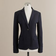 classic style- navy blue blazer