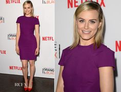 Taylor Schilling In Roland Mouret – 'Orange Is The New Black' Panel Discussion