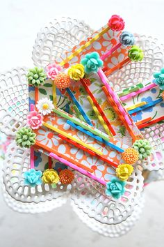 Colorful Bobby Pins x