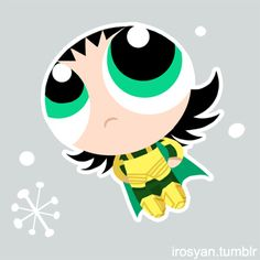 Buttercup Loki - The Powerpuff Girls