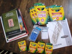 homeschool planning, school supplies, homeschool year, homeschool idea