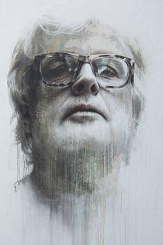"Saatchi Online Artist: Annemarie Busschers; Acrylic, 2012, Painting ""Jacob Witzenhausen"""