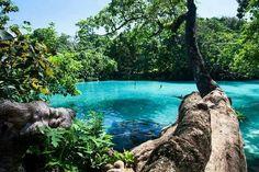 Blue Lagoon, Jamaica.