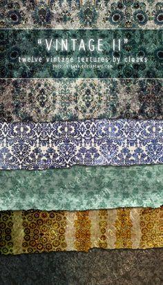 Vintage II Texture Pack (7 Textures)