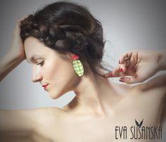 Earrings made by Eva Sušanská Styling and Model - Kateřina Šmídová Photo - Patricie Behenská