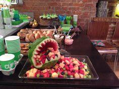 Watermelon dinosaur. Also inspired by Pinterest. watermelon dinosaur