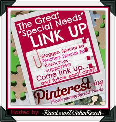 Pinterest Directory for those who pin from a Special Needs/Special Education perspective. Resources