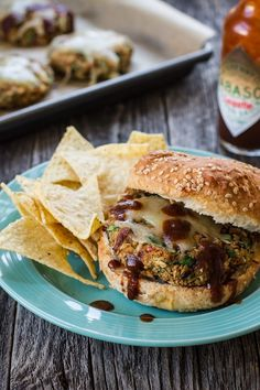 Smoky Black Eyed Pea + Collard Green Veggie Burgers