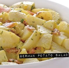 German Potato Salad http://chicgalleria.com/2012/03/thursday-salad-german-potato-salad/