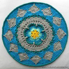 Sophie's Mandala - Part 2 {Medium} - Look At What I Made  (Free pattern)