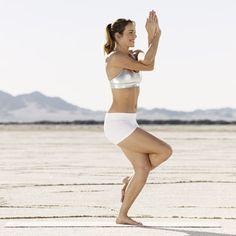 Favorite yoga pose.