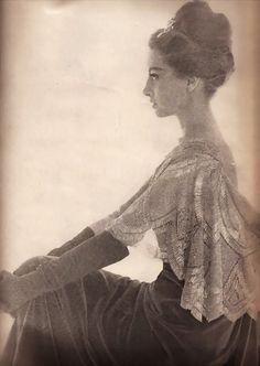 fashion 1960, bazaar octob, bazaar 1961, vintag fashion, octob 1961, alaska, harper bazaar, fashion photographi, capucin