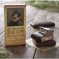 Sir Francis Bacon Dark Chocolate Toffee Bar I Crate and Barrel