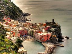 Vernazza (Cinque Terre - Italy) by fede0253, via Flickr -- one of my most favorite places.