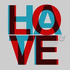 typographi inspir, inspiration, loveh relationship, meet hate, logos design