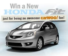 Win a 2012 Honda Fit Sport giveaway. Restrictions: 18+, USA  Expires: December 28, 2012