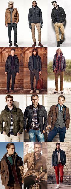 The Field Jacket Lookbook Inspiration