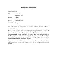 drafting a resignation letter   sample letters of resignation More