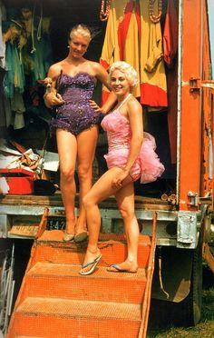 Beautiful Circus Performers