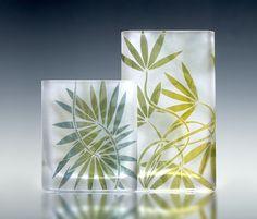 Melinda Wellsandt Glass Artist vases