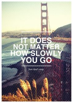 don't stop.