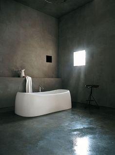 bathroom design, interior design, baths, patricia urquiola, agap, bathtubs, bathrooms, pears, pear bathtub