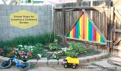 Five Little Homesteaders - Creating a Children's Garden