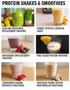 Check out our collection of our best protein shake and smoothie recipes! Bodybuilding.com