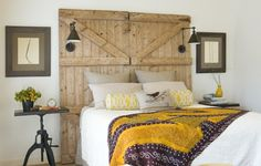 rustic headboards - Google Search