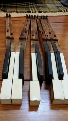 Vintage Piano Keys For Decor or Art Project Great by maliasmark, $20.00