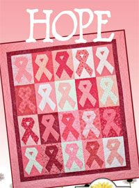 Hope Awareness Wallhanging by Crazy Old Ladies at KayeWood.com. Create this awareness wallhanging in any of the ribbon colors for your particular interests. Instructions to make the quilt pictured. http://www.kayewood.com/item/Hope_Quilt_Pattern/2869 $9.00