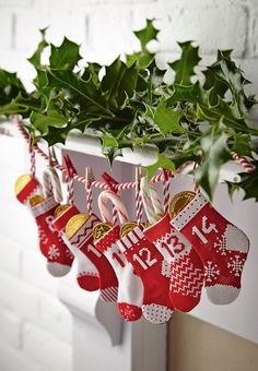 link to chart for 2 stockings, similar to these