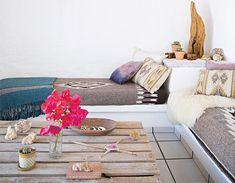 A beautiful boho Mexican home. Brittany Ambridge. Domino.