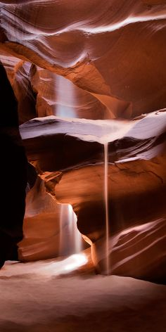 ✮ Light and Sand - Antelope Canyon outside of Page, AZ