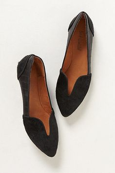 Cutout Loafers