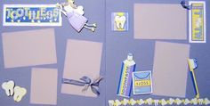 Scrapbooking pages tooth fairy dentist