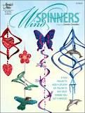 Plastic canvas wind spinners
