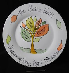 Homecoming Day Plate #adoption #adopt #kids #baby