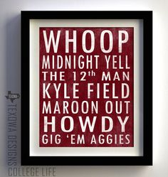 My favorite things about Aggieland.