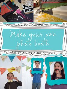 Make your own DIY Photo Booth