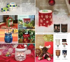 -- Christmas Scentsy warmers, I want them all!! And the moose :) !
