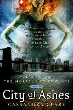 City of Ashes book 2 in Mortal Instrument series!