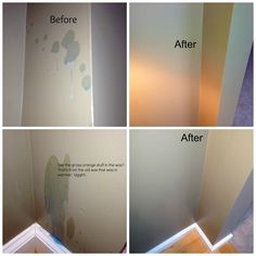 How to clean Scentsy wax off walls and floors