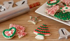 Chai Tea Cut Out Cookies with Chai Royal Icing