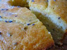 Lemon Lavender Coffee Cake