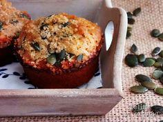 Telita na Cozinha: queques de espelta com cenoura, maçã e sementes de...