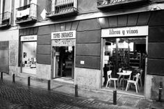 Librería Tipos Infames, Madrid.