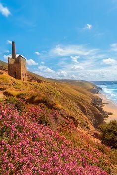 St Agnes, Cornwall. England.