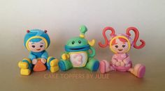 Team Umizoomi Cake Toppers - can make fondant figures
